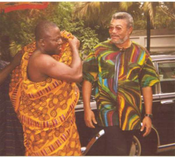 Otumfuo is not in a position to know - Rawlings