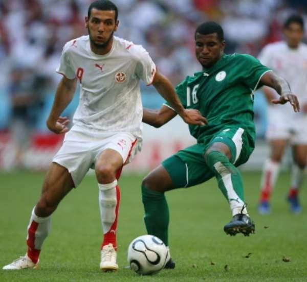 TUNISIA 2-2 SAUDI ARABIA
