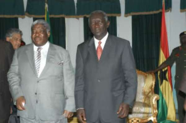 Ghana, Zambia to establish Commission for Cooperation