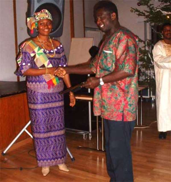 Ghanaian Based in Finland  made  Chief