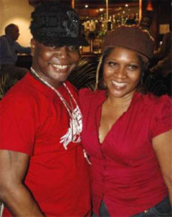 Charly Boy and Lady Di