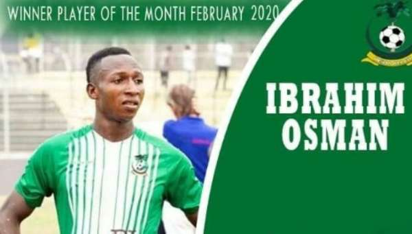 King Faisal Striker Osman Ibrahim Confident Of Excelling At Kotoko After Loan Spell