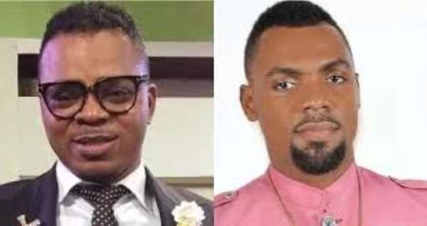 angel obinim throws out junior pastor for accepting rev. obofour''s gifts