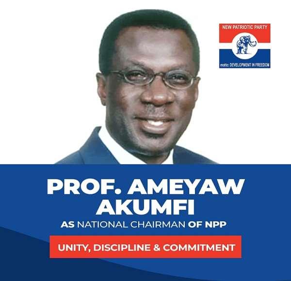 Ameyaw-Akumfi eyes NPP National Chairmanship job