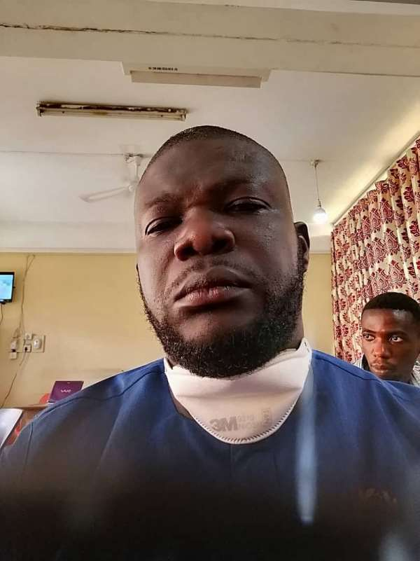 Lockdown Brutalities: Policemen Beat Afigya Kwabre DCE To Pulp