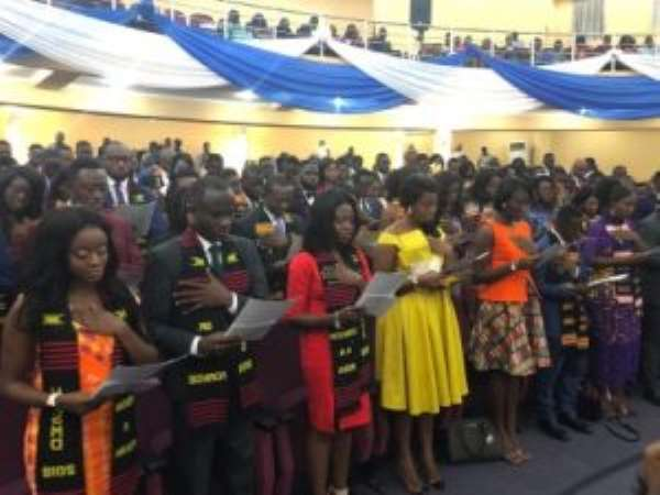 106 Doctors Inducted