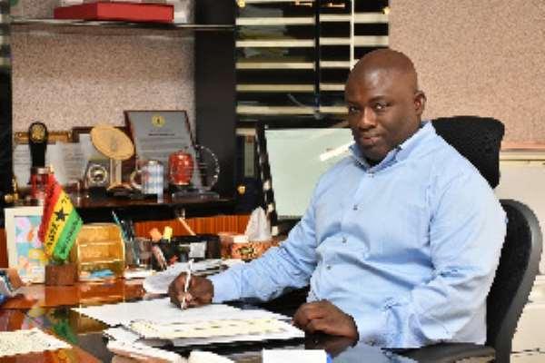 The Managing Director of the Tema Oil Refinery (TOR) Asante Berko