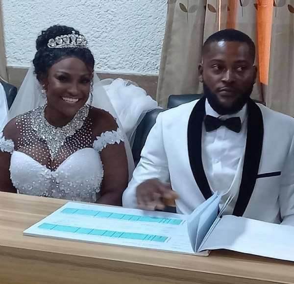 Newly wedded Abena Moet says there is nothing special about marriage