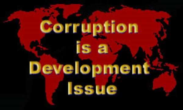 High perception of corruption in Ghanaian Politics