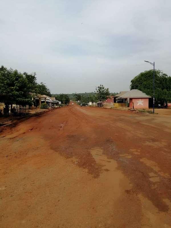 Mahama Gets Result: Ahafo Cocoa Roads Continuing