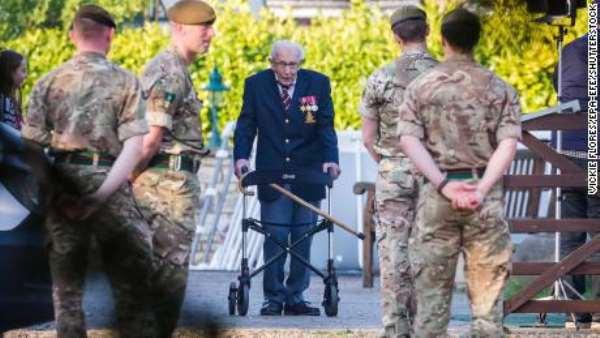 99-Year-Old War Veteran Raises $15m For UK's National Health Service