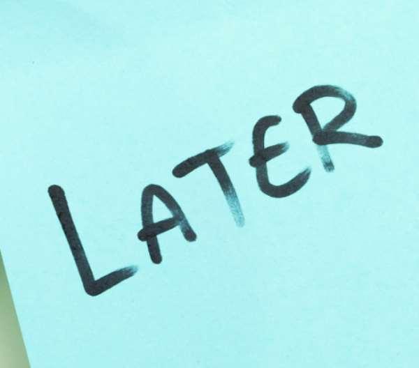 Eliminate Procrastination