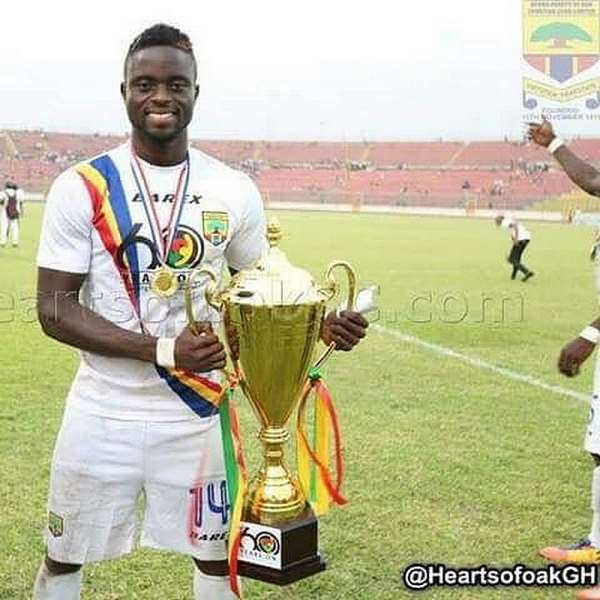 Ex-Hearts of Oak Striker Cosmos Dauda Not Ruling Out A Return To The Club