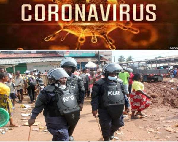 COVID 19 Crackdown in Liberia
