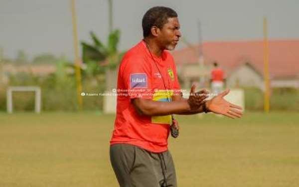 Kotoko head coach Maxwell Konadu