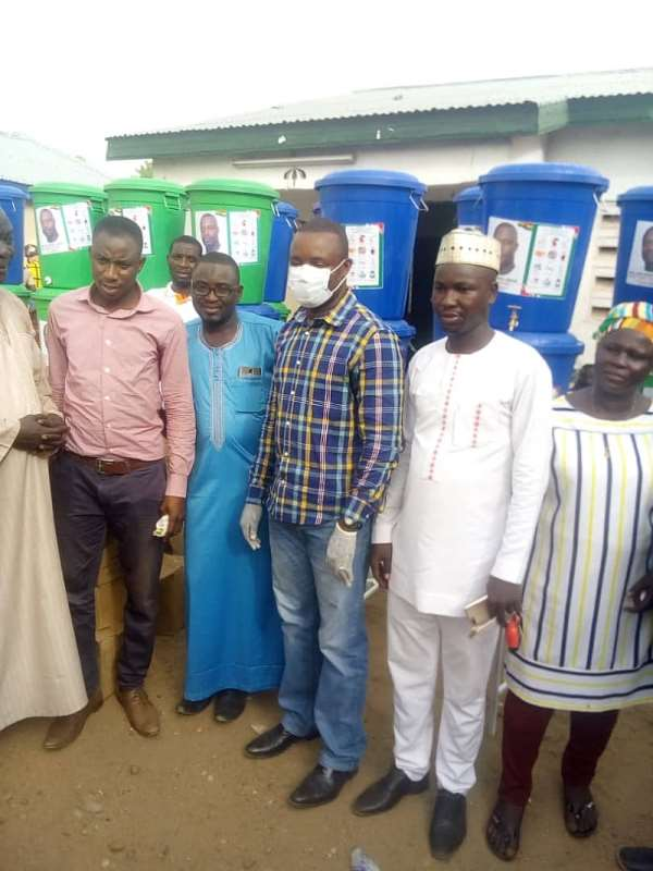 John Jinapor Donates To Constituency The Second Time
