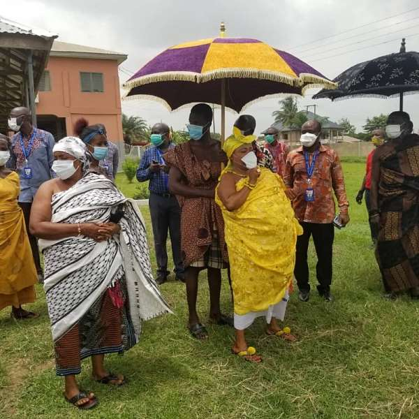 Lockdown: Beat People To Stay Home – Ejisu Queen Mother Tells Soldiers