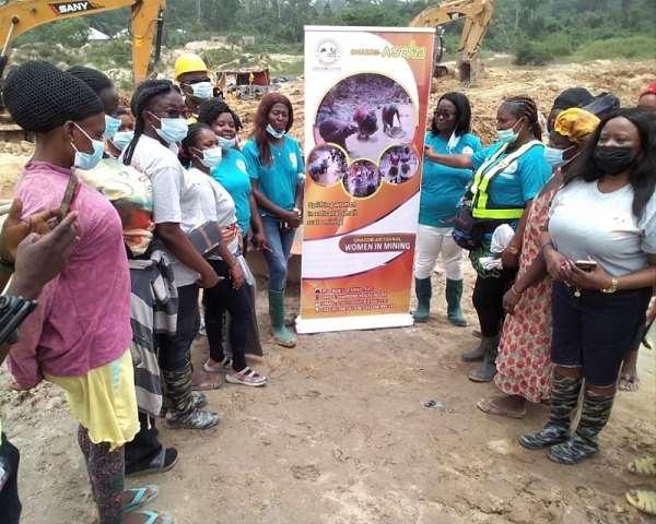 ASWiM on Field Outreach Program at Ntorbroso, Bibiani