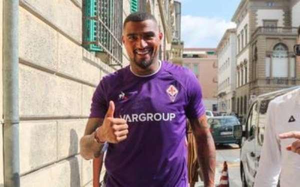 KP Boateng Hints At Staying With Fiorentina Next Season