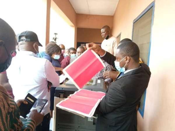 Techiman South: EC presented 'fake' pink sheets in court — NDC
