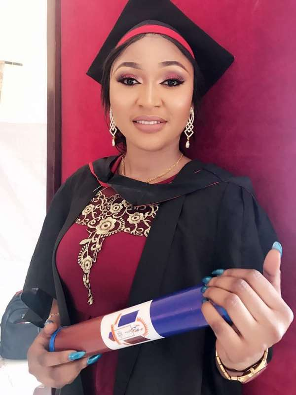 Ex Beauty Queen Olamma Graduates With Flying Colours