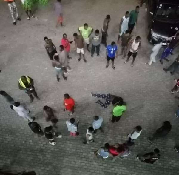 National service man fall from 4th floor of Mensah Sarbah hall at University of Ghana