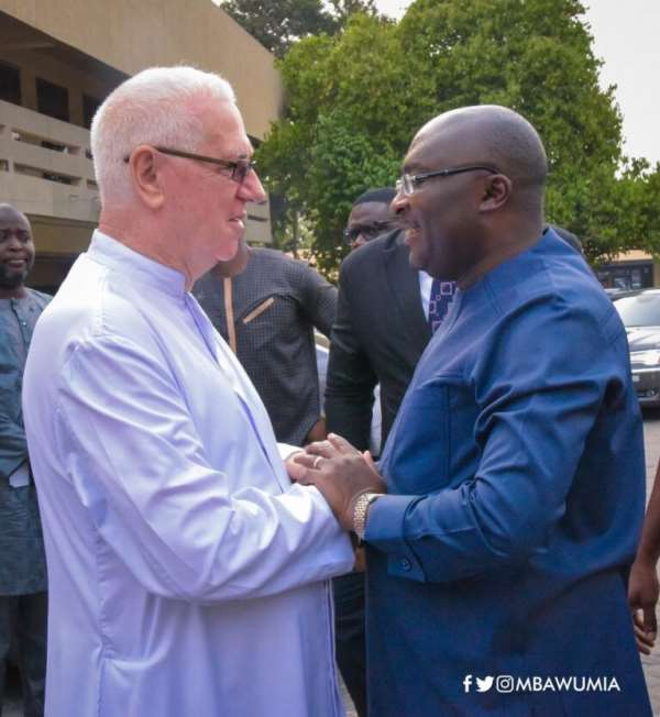 Working with Bawumia is a privilege – Father Cmpbell