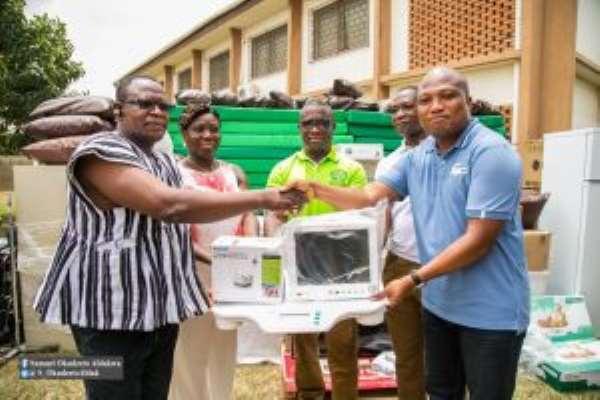 Ablakwa Gives Medical Equipment To Bator Catholic Hospital
