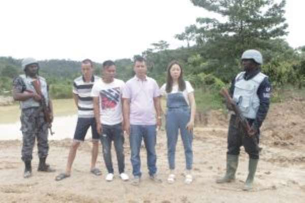 33 Chinese, 72 Other Foreign Galamseyers Arrested In 2019 – Operation Vanguard