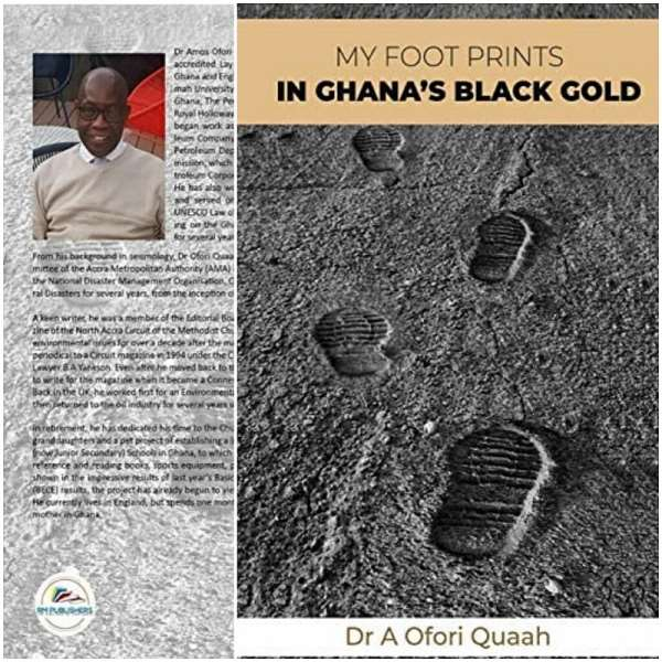 Photo of the front and back covers of the book by Dr. Quaah