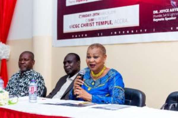 Joyce Aryee Ask Central University Graduate School Students To Be Change Leaders