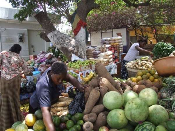 Cargo With Foodstuff Grounded At Techiman Market Over Covid-19 Lockdown
