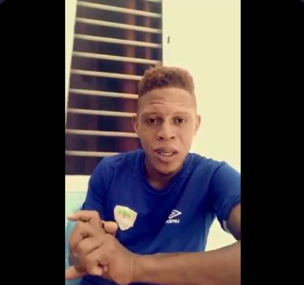 COVID-19: Defender Larry Sumaila Call On Hearts Supporters To Stay Safe [VIDEO]