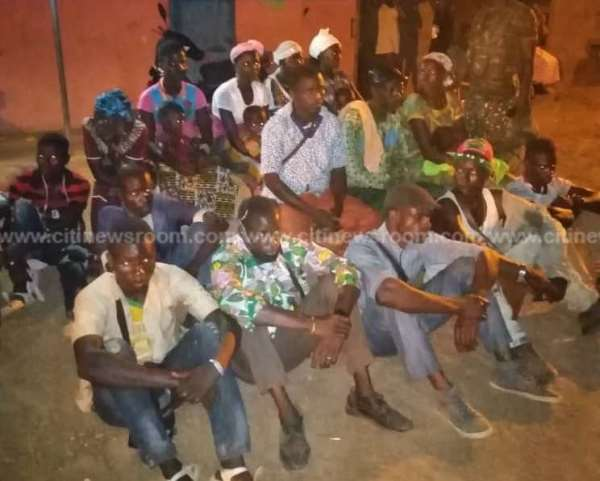 17 Burkinabes Grabbed For Sneaking Into Ghana Through Upper West