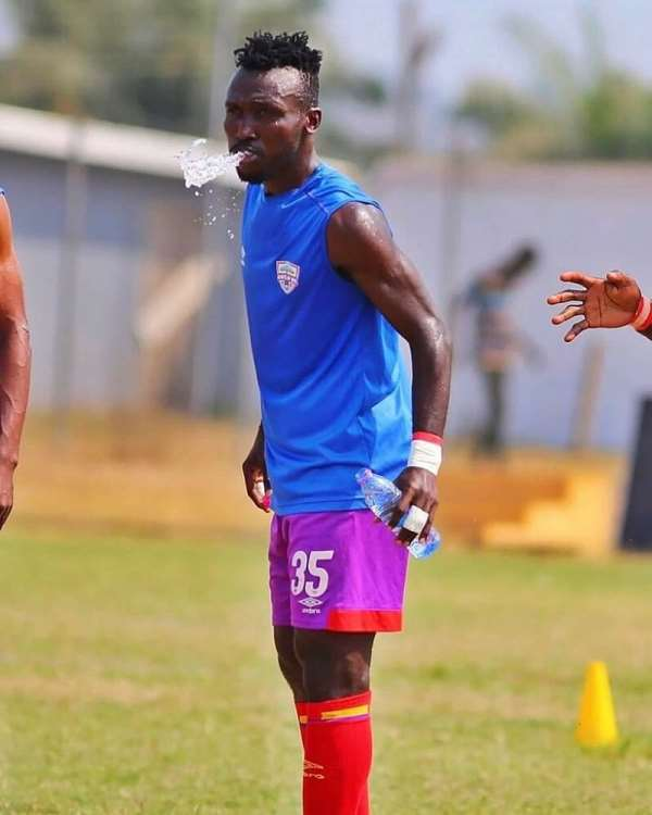 Emmanuel Nettey Engage In Personal Training To Stay In Shape