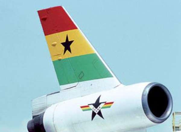 Ghanair issues  £27,000  dude cheque