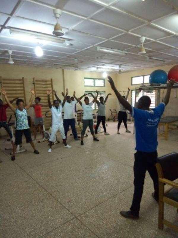 Bolgatanga Hospital starts keep fit club