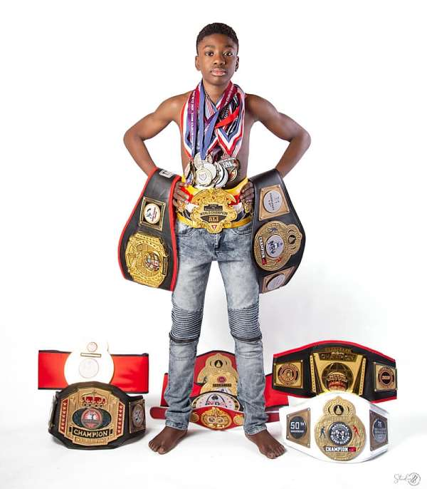 Joseph Awinongya Jnr. defeats Lamar Asante in finals to win eighth USA National Boxing Title