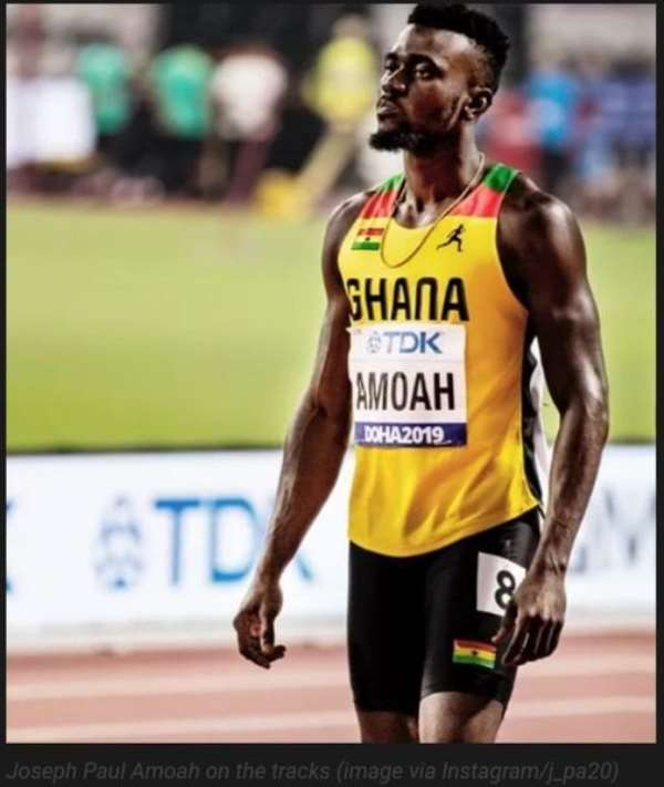 Joseph Paul Amoah - The first Ghanaian athlete to qualify for Tokyo 2021 Olympics