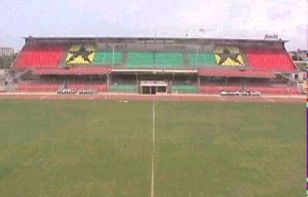 CAF inspection team inspects facilities in Kumasi
