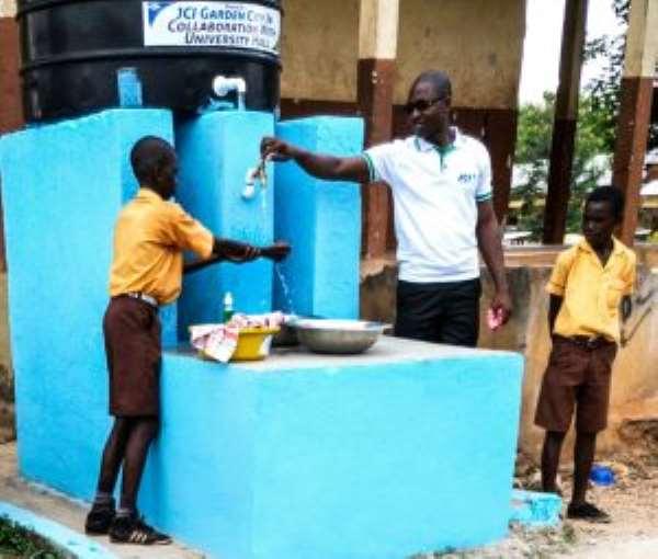 JCI, Katanga Hall support Kwadaso Cluster of Schools