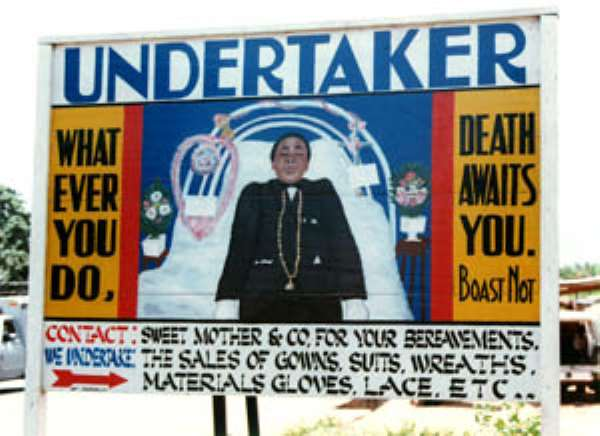 Funerals: The new business in Kumasi