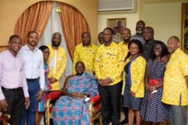 Asantehene Commends MTN For Consistency