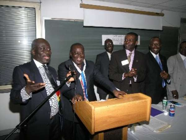 NPP North America Endorses Kufour At Congress