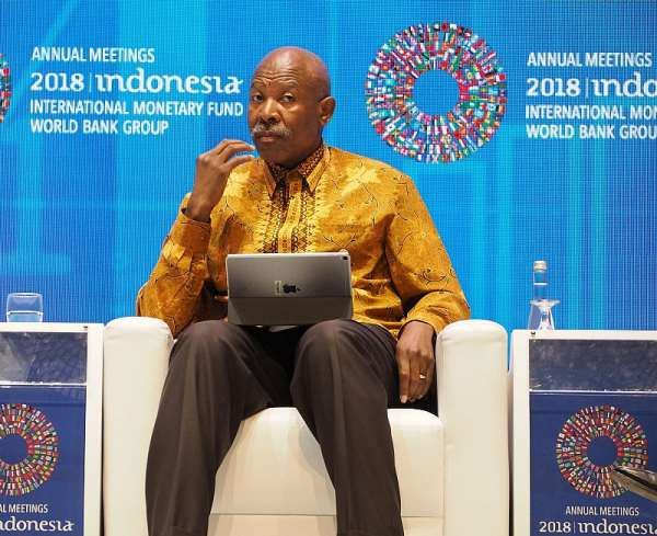 South African Reserve Bank Governor Lesetja Kganyago chairs the International Monetary Finance Committee - Source: Getty Images