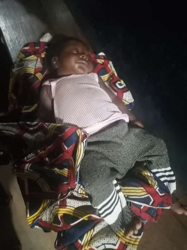 Volta Region: Akatsi Police on wild hunt for mother who dumped 2-month-old baby