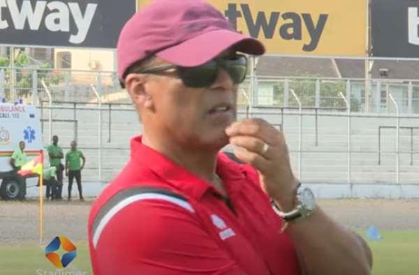 Asante Kotoko head coach Mariano Barreto