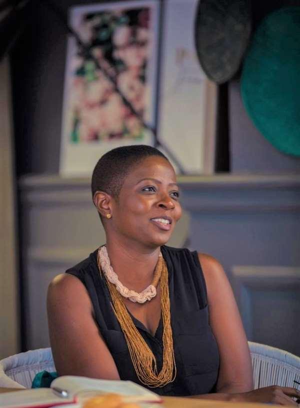 The Author, Akua Brayie Owusu-Nartey