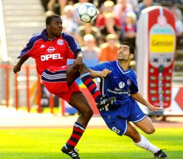 Milan clubs rival Arsenal for Kuffour