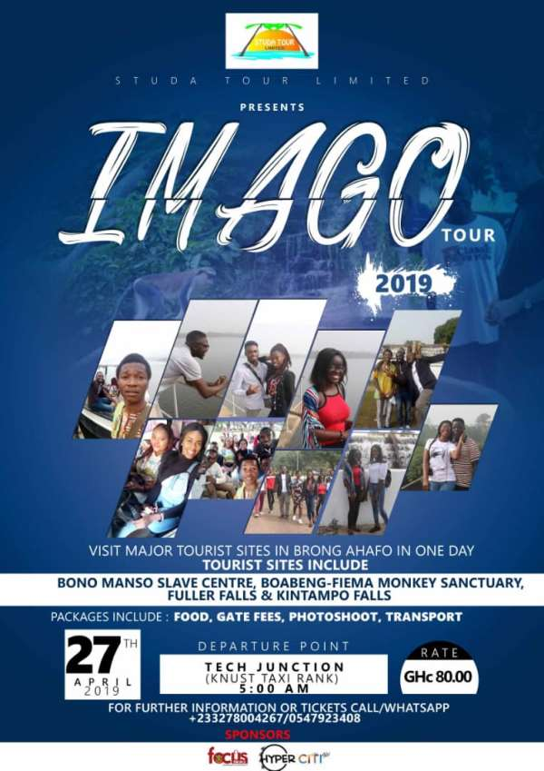 IMAGO 2019: Embracing The Fullness of Brong-Ahafo's Major Tourist Sites in a Grand style.